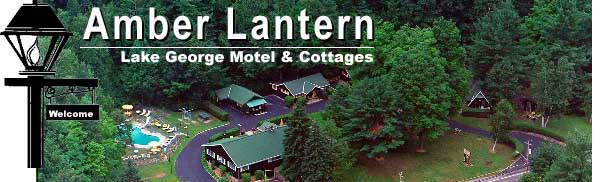 OF LAKE GEORGE MOTELS, AMBER LANTERN MOTEL AND COTTAGES OFFERS QUIET, SPACIOUS LODGING